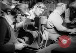 Image of war production workers at aircraft factory Long Beach California USA, 1942, second 15 stock footage video 65675052407