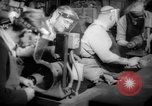 Image of war production workers at aircraft factory Long Beach California USA, 1942, second 16 stock footage video 65675052407