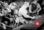 Image of war production workers at aircraft factory Long Beach California USA, 1942, second 17 stock footage video 65675052407