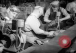 Image of war production workers at aircraft factory Long Beach California USA, 1942, second 18 stock footage video 65675052407
