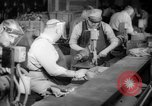 Image of war production workers at aircraft factory Long Beach California USA, 1942, second 20 stock footage video 65675052407