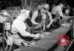 Image of war production workers at aircraft factory Long Beach California USA, 1942, second 21 stock footage video 65675052407