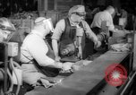 Image of war production workers at aircraft factory Long Beach California USA, 1942, second 22 stock footage video 65675052407