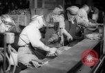 Image of war production workers at aircraft factory Long Beach California USA, 1942, second 23 stock footage video 65675052407