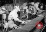 Image of war production workers at aircraft factory Long Beach California USA, 1942, second 24 stock footage video 65675052407
