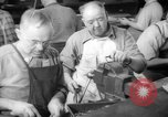 Image of war production workers at aircraft factory Long Beach California USA, 1942, second 25 stock footage video 65675052407