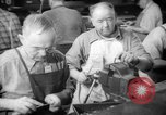Image of war production workers at aircraft factory Long Beach California USA, 1942, second 26 stock footage video 65675052407
