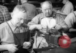 Image of war production workers at aircraft factory Long Beach California USA, 1942, second 29 stock footage video 65675052407