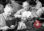 Image of war production workers at aircraft factory Long Beach California USA, 1942, second 30 stock footage video 65675052407