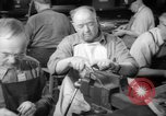 Image of war production workers at aircraft factory Long Beach California USA, 1942, second 31 stock footage video 65675052407