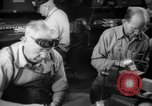 Image of war production workers at aircraft factory Long Beach California USA, 1942, second 38 stock footage video 65675052407