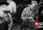 Image of war production workers at aircraft factory Long Beach California USA, 1942, second 39 stock footage video 65675052407