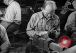 Image of war production workers at aircraft factory Long Beach California USA, 1942, second 40 stock footage video 65675052407
