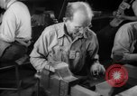 Image of war production workers at aircraft factory Long Beach California USA, 1942, second 41 stock footage video 65675052407