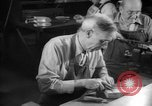 Image of war production workers at aircraft factory Long Beach California USA, 1942, second 45 stock footage video 65675052407