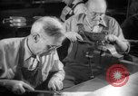 Image of war production workers at aircraft factory Long Beach California USA, 1942, second 47 stock footage video 65675052407