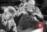 Image of war production workers at aircraft factory Long Beach California USA, 1942, second 48 stock footage video 65675052407