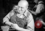 Image of war production workers at aircraft factory Long Beach California USA, 1942, second 57 stock footage video 65675052407