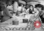 Image of Goodyear factory interiors Akron Ohio USA, 1942, second 60 stock footage video 65675052416