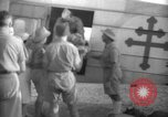 Image of French army officials Fort Lamy French Equatorial Africa, 1941, second 20 stock footage video 65675052429