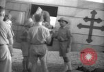 Image of French army officials Fort Lamy French Equatorial Africa, 1941, second 22 stock footage video 65675052429