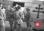 Image of French army officials Fort Lamy French Equatorial Africa, 1941, second 23 stock footage video 65675052429