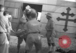 Image of French army officials Fort Lamy French Equatorial Africa, 1941, second 24 stock footage video 65675052429
