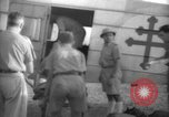 Image of French army officials Fort Lamy French Equatorial Africa, 1941, second 26 stock footage video 65675052429