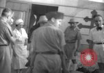 Image of French army officials Fort Lamy French Equatorial Africa, 1941, second 28 stock footage video 65675052429