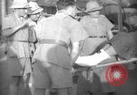 Image of French army officials Fort Lamy French Equatorial Africa, 1941, second 37 stock footage video 65675052429