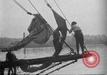 Image of Captain Marty Welch Gloucester Massachusetts USA, 1921, second 10 stock footage video 65675052459