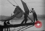 Image of Captain Marty Welch Gloucester Massachusetts USA, 1921, second 13 stock footage video 65675052459
