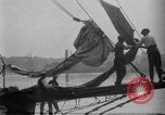 Image of Captain Marty Welch Gloucester Massachusetts USA, 1921, second 15 stock footage video 65675052459