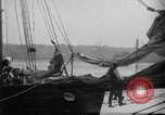 Image of Captain Marty Welch Gloucester Massachusetts USA, 1921, second 19 stock footage video 65675052459