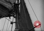 Image of Captain Marty Welch Gloucester Massachusetts USA, 1921, second 21 stock footage video 65675052459