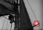 Image of Captain Marty Welch Gloucester Massachusetts USA, 1921, second 23 stock footage video 65675052459