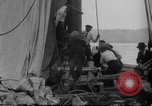 Image of Captain Marty Welch Gloucester Massachusetts USA, 1921, second 25 stock footage video 65675052459
