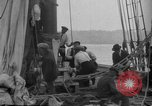 Image of Captain Marty Welch Gloucester Massachusetts USA, 1921, second 27 stock footage video 65675052459
