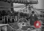 Image of Captain Marty Welch Gloucester Massachusetts USA, 1921, second 29 stock footage video 65675052459