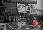 Image of Captain Marty Welch Gloucester Massachusetts USA, 1921, second 35 stock footage video 65675052459