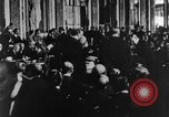Image of Woodrow Wilson Paris France, 1919, second 2 stock footage video 65675052477