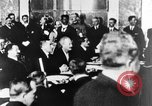 Image of Woodrow Wilson Paris France, 1919, second 24 stock footage video 65675052477