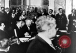 Image of Woodrow Wilson Paris France, 1919, second 25 stock footage video 65675052477