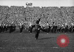 Image of First football game in 1927 at new Michigan Stadium Ann Arbor Michigan USA, 1927, second 14 stock footage video 65675052490