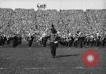 Image of First football game in 1927 at new Michigan Stadium Ann Arbor Michigan USA, 1927, second 15 stock footage video 65675052490