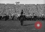 Image of First football game in 1927 at new Michigan Stadium Ann Arbor Michigan USA, 1927, second 16 stock footage video 65675052490