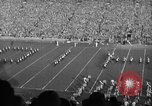 Image of First football game in 1927 at new Michigan Stadium Ann Arbor Michigan USA, 1927, second 28 stock footage video 65675052490