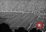 Image of First football game in 1927 at new Michigan Stadium Ann Arbor Michigan USA, 1927, second 29 stock footage video 65675052490
