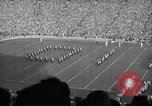 Image of First football game in 1927 at new Michigan Stadium Ann Arbor Michigan USA, 1927, second 31 stock footage video 65675052490