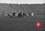 Image of First football game in 1927 at new Michigan Stadium Ann Arbor Michigan USA, 1927, second 34 stock footage video 65675052490